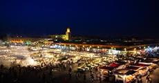 Maroc - Marrakech - Djemaa El Fna