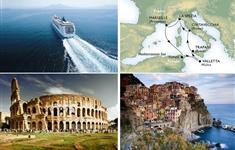 MSC LIRICA - Mediterana de Vest - MSC LIRICA - Mediterana de Vest